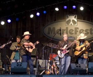Merlefest; Credit Wilkes County Chamber of Commerce