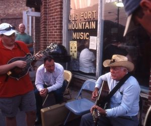 Jam in Old Fort, NC; Credit NC Arts Council/Cedric N. Chatterley