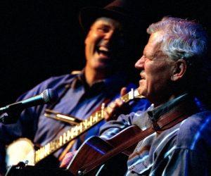 Doc Watson and David Holt; Credit Banjo Man
