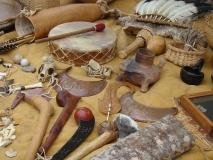 CherokeeIndianFair-drum-and-crafts