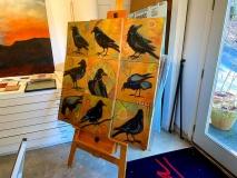 DerGaraSTudio-crow-paintings