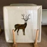 FireMossPottery-deer-plate
