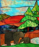 GlassbyGayle-stained-glass-bears
