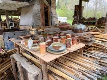 MeltingMountainPottery-wood-fired-pots