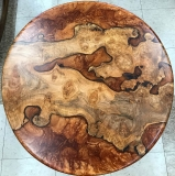 MetzgersBurlWood-round-tabletop
