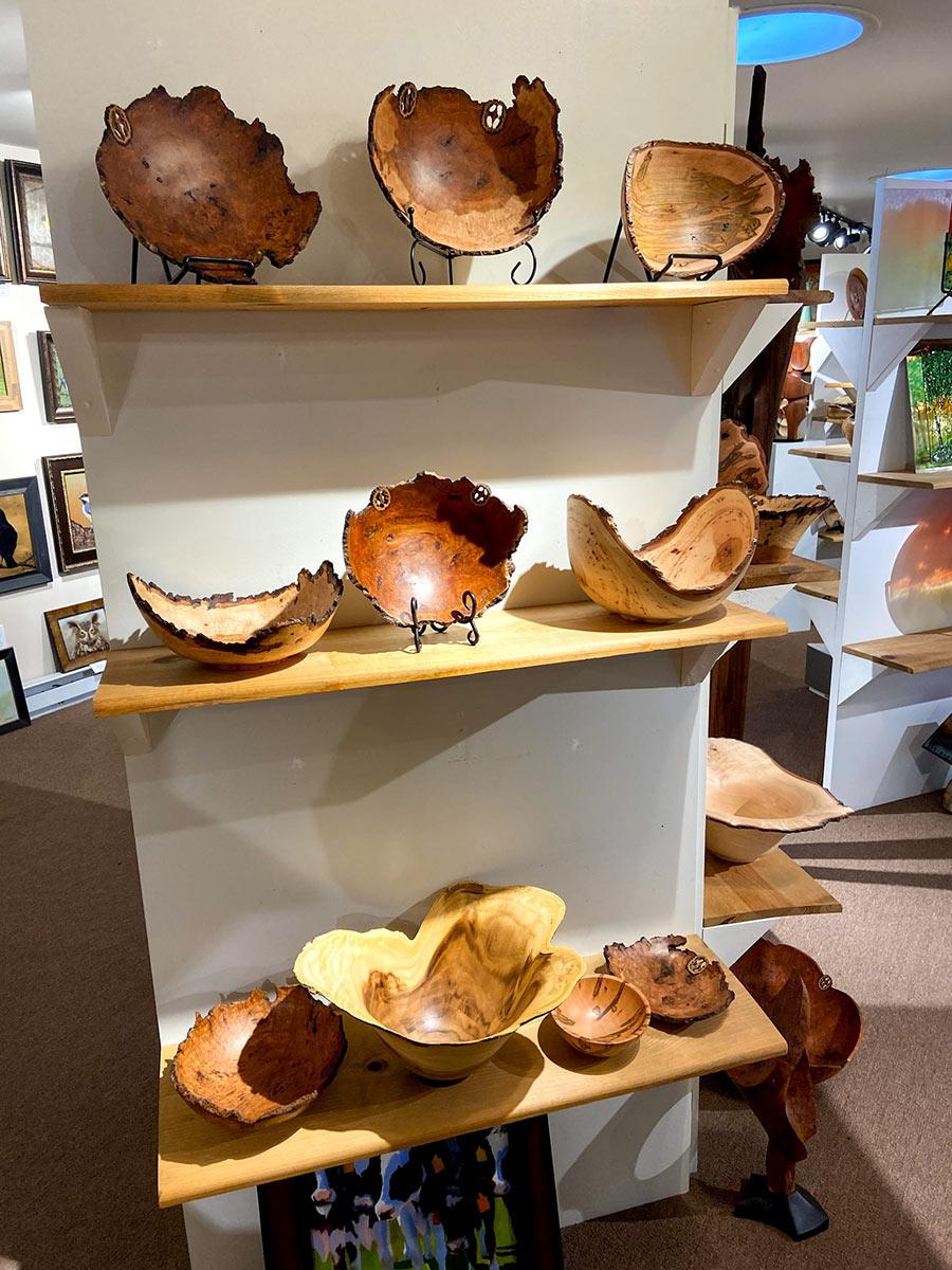 MountainMist-turned-wood-bowls