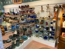 NCMountainMade-Pottery-Dislpay