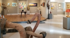 Transylvania County Arts Council example of exhibit space