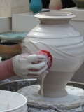 WNCPotteryFestival-potters-wheel