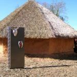 Cherokee traditional home Exhibit