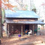 cabin at Hickory Ridge Living History Museum