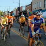 cyclists in Rutherfordton