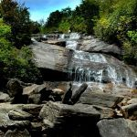 Waterfall at Graveyard Fields