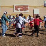 Cherokee Heritage Festival dancing