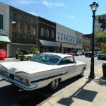 classic car downtown Elkin, NC