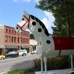 Tryon Rocking Horse in downtown Tryon