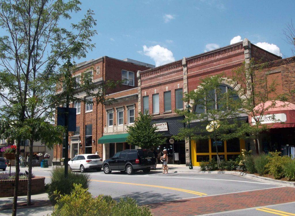 Hendersonville Historic Small Towns Blue Ridge Mountains