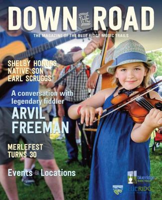 Down the Road magazine cover