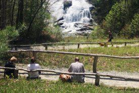 waterfall at High Falls