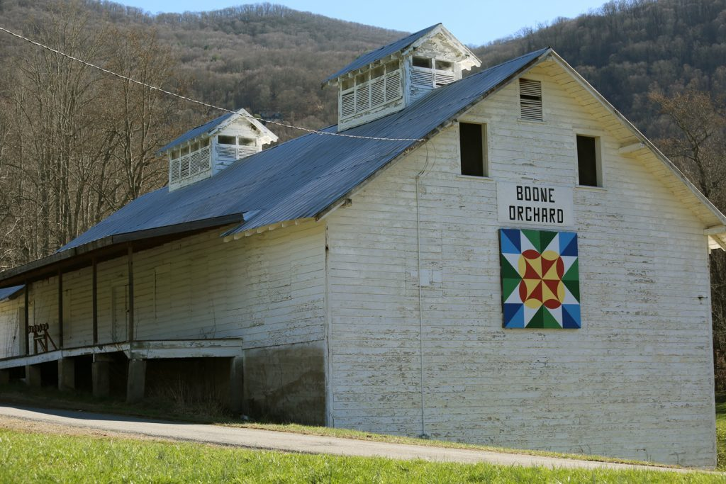 Haywood County barn quilt