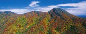Hawksbill Mountain, fall foliage