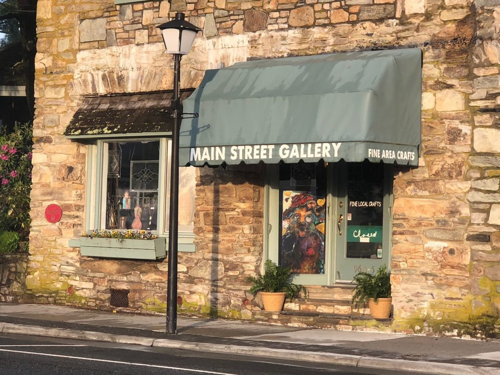 Main Street Gallery in Blowing Rock