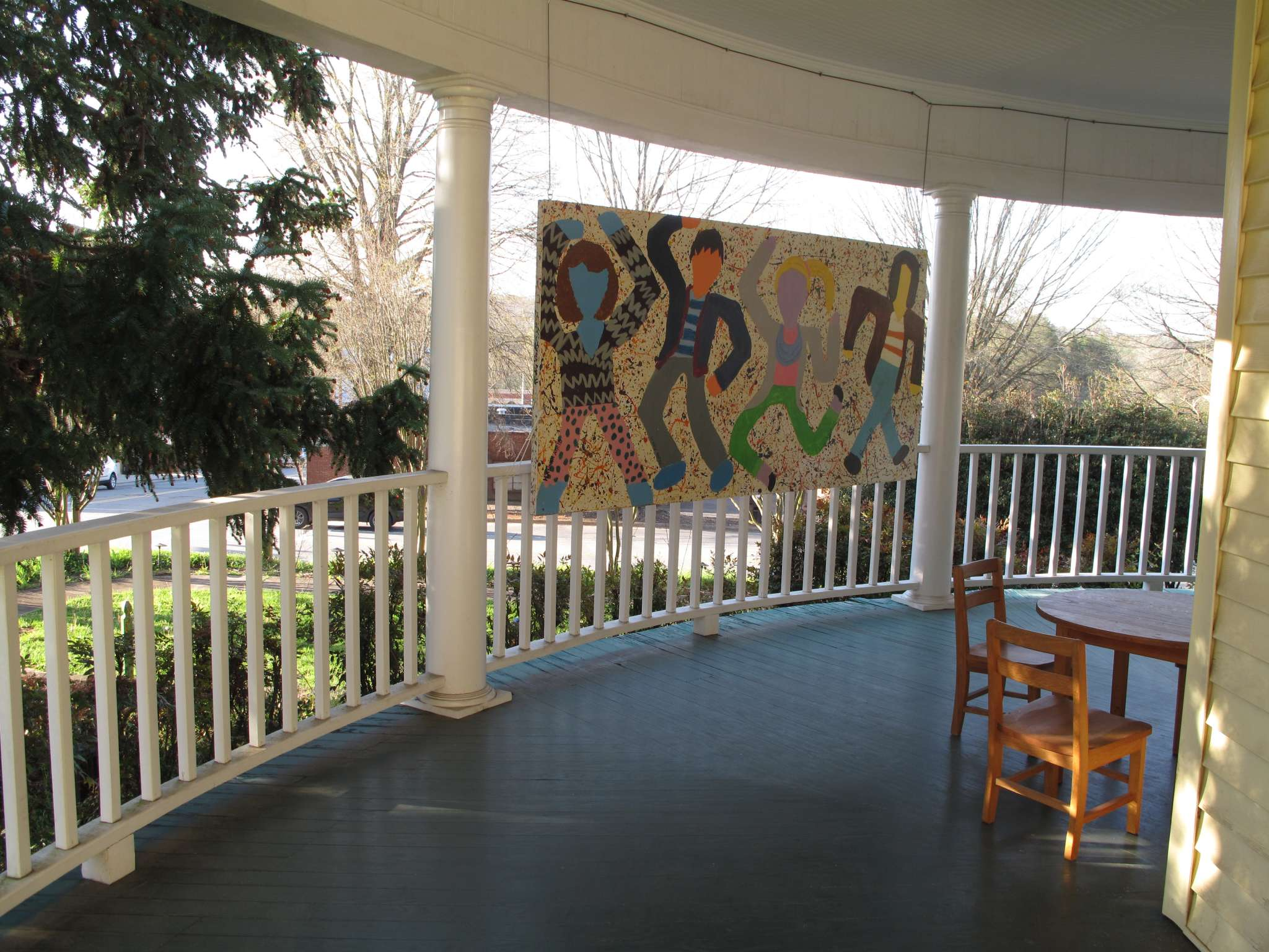 The Foothills Arts Council is in a Victorian home in Elkin.