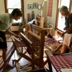 Heritage Weavers preserve fiber arts at Historic Johnson Farm.