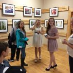 The Murphy Art Center sponsors a monthly Art Walk downtown.
