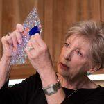Glass artist Karen Hovis