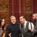 Carley Arrowood with Darin and Brooke Aldridge and John Cowan