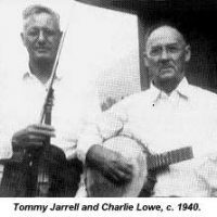 Charlie Lowe and Tommy Jarrell