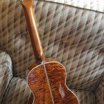 Henderson Jayne ukulele back