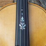 Testerman fiddle inlay