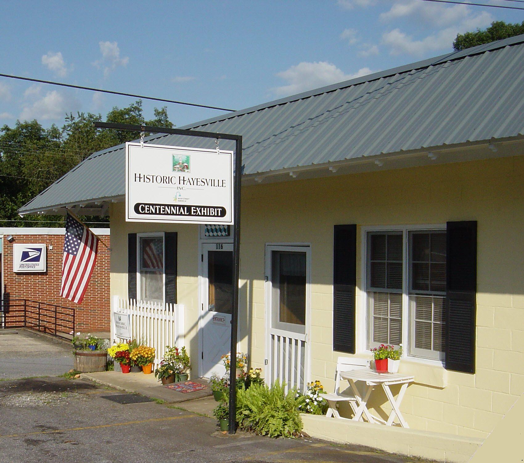 Historic Hayesville Centennial Exhibit