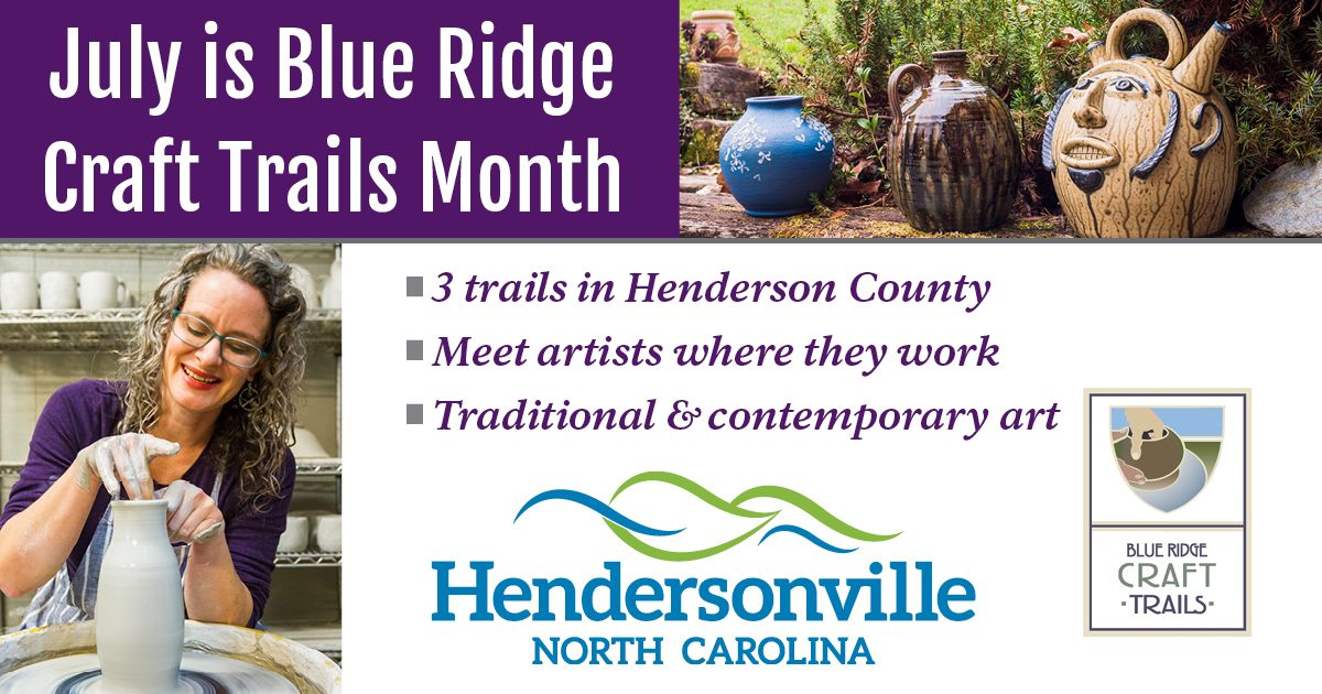 Blue Ridge Craft Trails Month