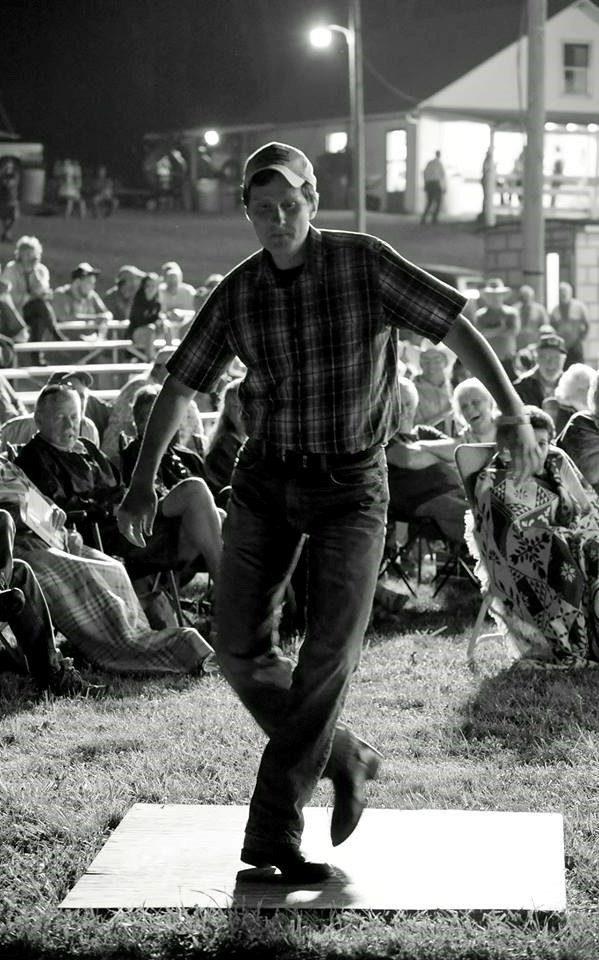 Aaron Ratcliffe dancing