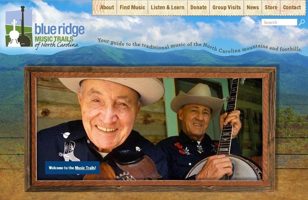 Blue Ridge Music Trails | Bluegrass | Appalachian Mountain Music